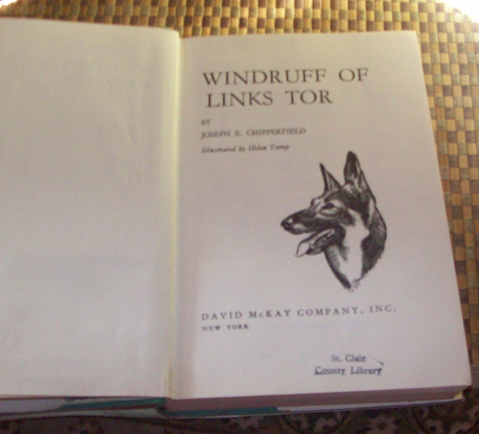 WINDRUFF of Links Tor by Joseph E. Chipperfield 1967 HBDJ