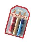 Blistex Holiday Lip Moisturizer Sealed 3 Sticks Raspberry Blueberry Carmel - $6.90