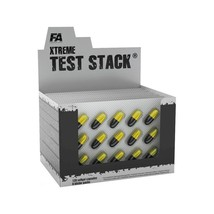 FA FITNESS AUTHORITY TEST STACK 120 caps Testosterone Libido Xtreme Booster - $25.91