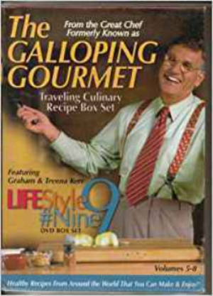 The Galloping Gourmet Dvd