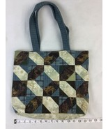 """Hand made quilted tote bag Western Horse Mustang theme 14"""" By 11"""" open top - $14.01"""