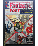 JACK KIRBY (FANTASTIC FOUR # 17) DOCTOR DOOM SILVER AGE COMIC BOOK (CLAS... - $420.75
