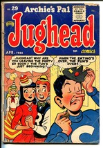 Archie's Pal Jughead #29 1955-Archie-Betty Veronica-Katy Keene-Al Capp-VG- - $60.53