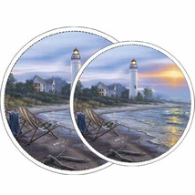 Reston Lloyd Electric Stove Burner Covers, Set of 4, A Perfect Day All-O... - $12.53