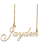 Jayden Custom Name Necklace Personalized for Mother's Day Christmas Gift - $15.99 - $29.99