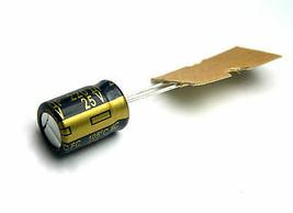 24pcs Panasonic FC 220uf 25v 105C Radial Electrolytic Capacitor (8mm x 11.5mm) - $8.72