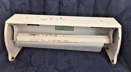 Bulman Spring Loaded Metal Mercantile Rolled Cutter...Wax Paper...Paper.... - $8.59