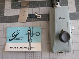 Vintage Buttonholer for short shank straight stitch machines side screw clamping - $16.13