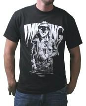 IM King Uomo Nero Lobo Vestito Up Lupo IN Disguise Grafico T-Shirt USA Fatto Nwt