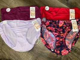 Jockey ~ 4-Pair Women's Bikini Underwear Panties Tactel Nylon Blend (B) ... - $32.71