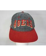 Vintage NFL DPM San Francisco 49ers Snapback Hat Cap Wool - $49.49