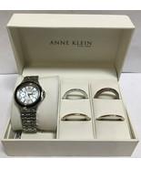Anne Klein New York Two-tone Women's Watch with Interchangeable Bezel - $33.85