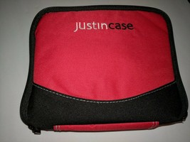 Justin Case just in case school red first aid bag travel  - $14.84