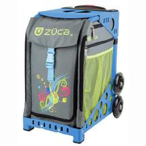 Zuca Sport Insert Bag, Swirlz (Gray w/ patterns) w/ Sport Frame Blue   - $210.50 CAD