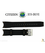 Citizen Eco-Drive Promaster BJ2115-07E Original Black Rubber Watch Band ... - $76.45