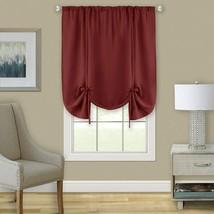 "Achim Home Furnishings, Marsala Darcy Window Curtain Tie Up Shade, 58"" x 63"" - $38.84+"