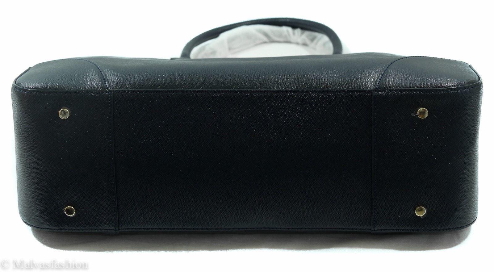 NWTTory Burch Robinson East/West Tote Handbag Bag, Blue image 8