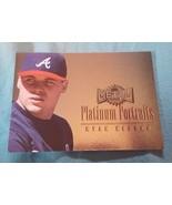 1996 Fleer Metal Platinum Portraits #6 Ryan Klesko Atlanta Braves Baseba... - $1.00