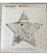 Tiny Twinkle Star Feeding Burp and Drool Set Keeps You Both Dry n Clean New - $23.36