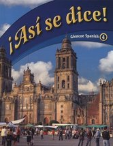 Asi Se Dice! (Glencoe Spanish, No. 4) (Spanish and English Edition) [Har... - $64.80