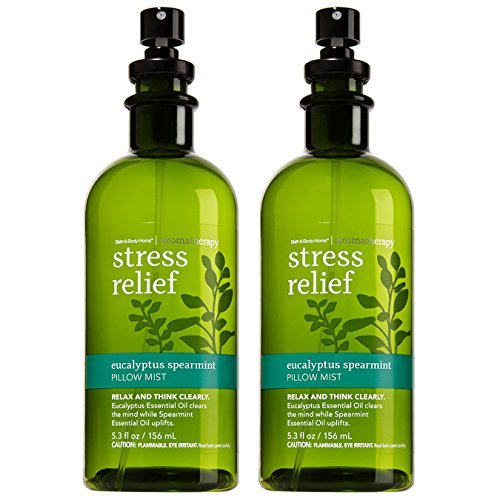 Bath & Body Works Aromatherapy Stress Relief Eucalyptus Spearmint Pillow Mist, 5 image 1