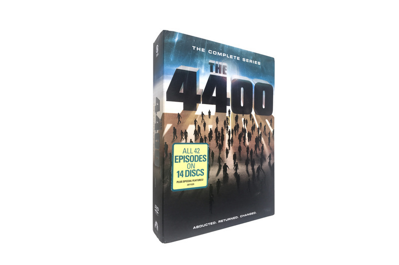 4400 The Complete Series Seasons 1-4 DVD Box Set 14 Disc Free Shipping
