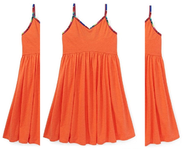 Ralph Lauren Little Girls' Jersey Swing Dress,Size L (12-14), MSRP $45 - $22.76