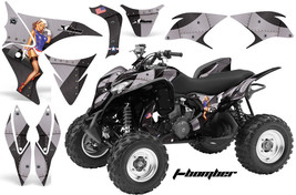 ATV Decal Graphic Kit Wrap Quad Stickers For Honda TRX 700XX 2009-2015 TBOMB BLK - $168.25