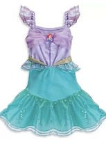 Disney Store The Little Mermaid Ariel Costume Dress Up Size 3-6 Months  Baby - $19.03