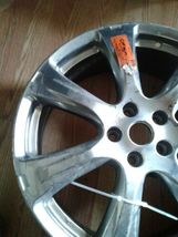 6258 20X7.5 Alloy Wheel Rim Light Smoked Hypersilver Painted(jew) image 3