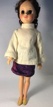"""Vintage, 1970's, Madame Alexander 18"""" doll, dress and stand included - $34.99"""