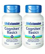 Life Extension Cognitex Basics with Phosphatidylserine 2X30gels repl Gastorodin - $39.55