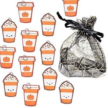 "Halloween Themed 12pc Treat Charms Gift Set - Cardboard - 1 1/2"" - Pumpk... - $8.90"