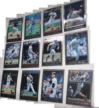 Lote 12 1998 Topps Super Chrome Jumbo Cartas Coleccionables - $27.57