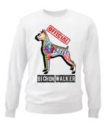 Boxer - official walker c - NEW WHITE COTTON SWEATSHIRT - $30.65