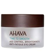 Ahava Age Control Brightening and Anti-Fatigue Eye Cream 0.5 oz  - $43.52