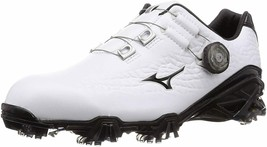MIZUNO GENEM 009  Boa Soft Spike Golf Shoes 2019 White Black 51GM1900 - $170.00