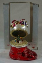 Mr Christmas 2006 Animated Stocking With Toys Music Box Jingle Bells - $20.78