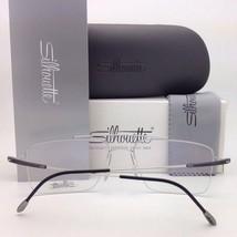 New SILHOUETTE Eyeglasses SPX 1578 75 9020 56-16 135 Black & Bronze Frames - $319.95