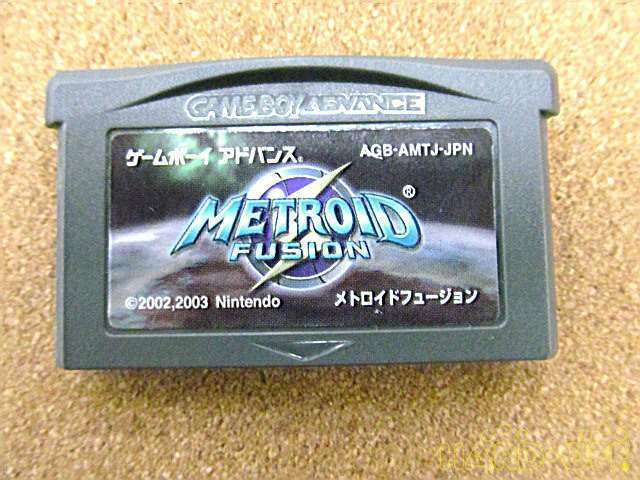 Nintendo Metroid Fusion Game Boy Advance Software