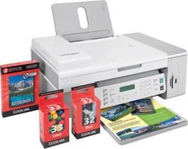 Lexmark X5470 USB 2.0/PictBridge Color Inkjet Printer Scanner Copier Fax... - $125.10