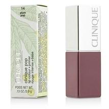 Clinique Pop Lip Colour + Primer - # 14 Plum Pop  - $40.00