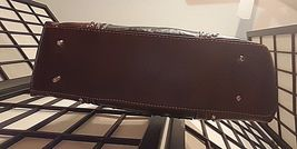Vintage Country Road Leather Purse W/Studded General Lee Dukes Of Hazard Flag image 6