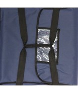 """Nylon Insulated Pizza Delivery Bag Size 20"""" x 20"""" x 12"""" Blue - $17.99"""