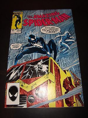 Amazing Spider-Man #254 Marvel Comic Book 1984 NM Condition 9.0 Black Costume