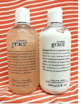 Philosophy *AMAZING GRACE* 3in1 Shower Gel & Firming Body Emulsion Lotion ~ 8 oz - $36.61