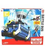 FORTNITE BATTLE BUS! Battle Royale Collection w/ BURNOUT & FUNK OPS FIGU... - $49.49