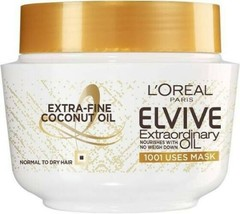 L'Oreal Elvive Extraordinary Oil Coconut Hair Mask 300ml - $13.40
