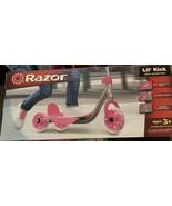 Razor Jr. 3 Wheel Scooter Lil' Kick Kids Girls - Pink  - $19.29