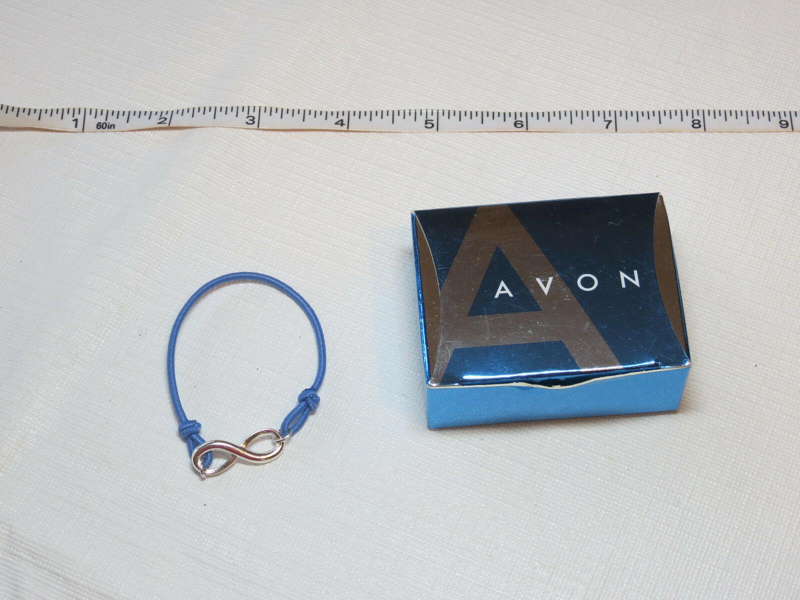 Donne Ragazze Avon Potenziamento Bracciale Piccolo Blu F3216611 Nip